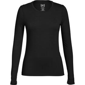 super.natural Base LS 175 Shirt Women Caviar